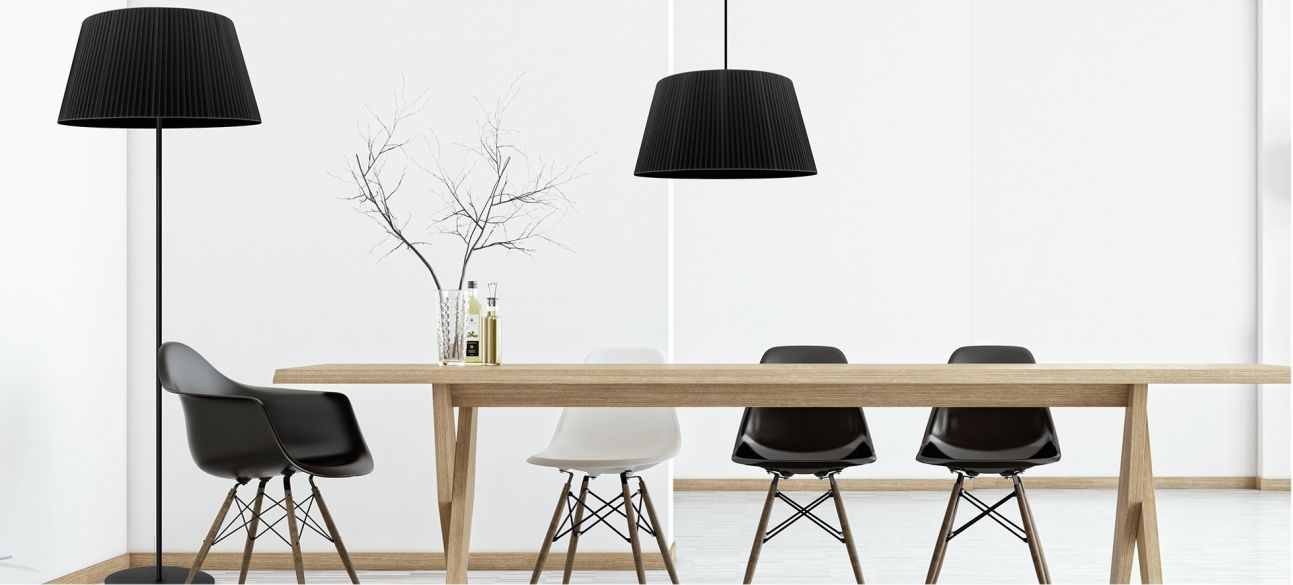 Sotto Luce Kami floor and desk lamps