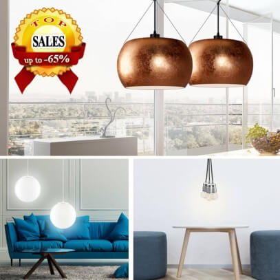 Special prices for Sotto Luce pendant lamps