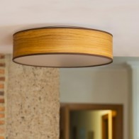 Naturally Wooden ceiling lamp Sotto Luce TSURI