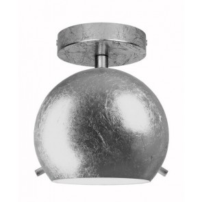 Silver ceiling lamp Sotto Luce Myoo Elementary CP 1/C