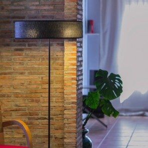 Contemporary Floor Lamp Bulb Attack ONCE Slim 1/F