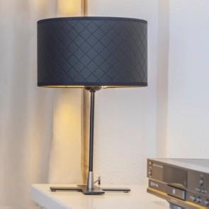 Bulb Attack Trece 1/T Black Bedside Lamp