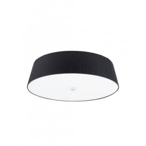 Bulb Attack DOS Plisado ceiling lamp with ecru textil shade