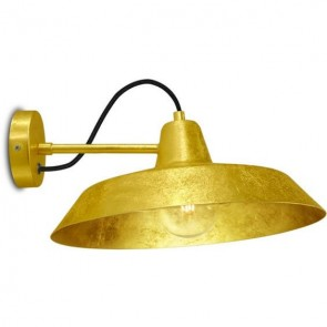 Bulb Attack Cinco Basic W1 wall lamp in gold leaves