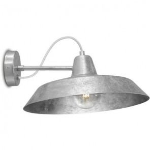 Silver wall lamp Bulb Attack Cinco Basic W1