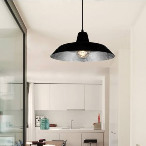 Bulb Attack Cinco S1 black/silver pendant lamp photo