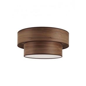 Bulb Attack OCHO 2 ceiling lamp walnut