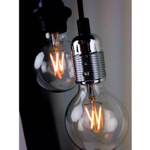 Globe LED Decorative Loft Light Bulb E27 4W A+ Dimmable in lamp holder