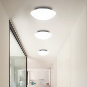 Sotto Luce Mato M ceiling or wall lamp with glass opal matte shade on