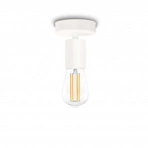 Bulb Attack Cero Basic C1 ceiling light with white E27 bulb holder and white ceiling canopy