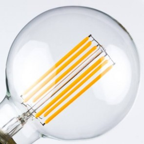 Decorative LED Bulb - Globe Straight M Filament Light E27 6,5W A+ Dimmable