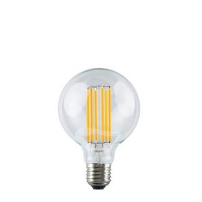 Globe Straight M Filament Bulb - Decorative LED Light