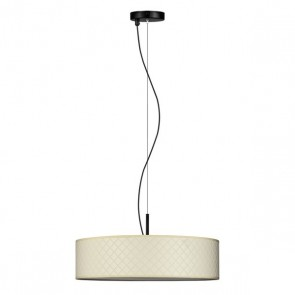Bulb Attack Trece Slim 1/S pendant lamp with ivory shade