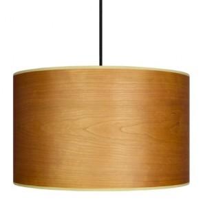 Wooden pendant lamp Sotto Luce TSURI Elementary 1/S