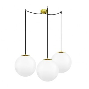 Sotto Luce TSUKI  3/S Globe Triple pendant light fitting