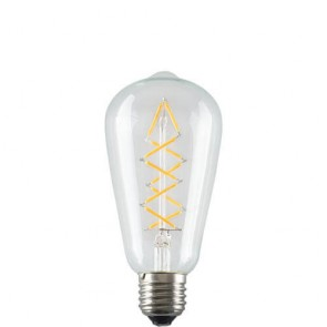 ZIG ZAG Filament Retro LED Bulb E27 5W A+ Dimmable