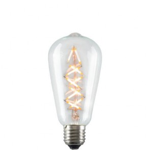 ZIG ZAG Filament Retro LED Bulb on
