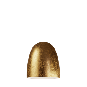 Sotto Luce Awa lamp shade - gold leaves/opal