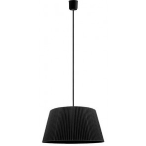 Sotto Luce KAMI Elementary L 1/S black pendant lamp