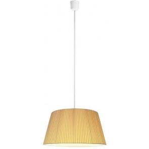 Sotto Luce KAMI Elementary L 1/S ecru pendant lamp