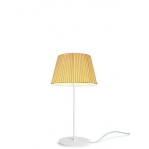 Sotto Luce KAMI Elementary M 1/T table lamp with ecru shade