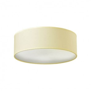 Sotto Luce Mika ceiling lamp with ecru shade