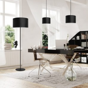 Cylindrical Pendant Lamp Sotto Luce MIKA 1-light