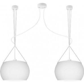 Sotto Luce MOMO Elementary 2/S ceiling lamp with opal matte shade