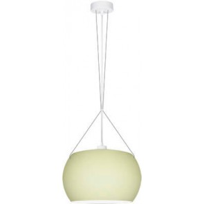 Sotto Luce MOMO Elementary 1/S pendant lamp with ecru matte glass shade
