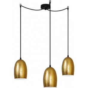 Sotto Luce UME Elementary 3/S gold pendant lamp