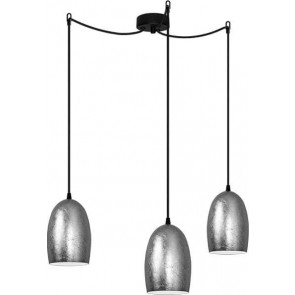 Sotto Luce UME Elementary 3/S silver pendant lamp