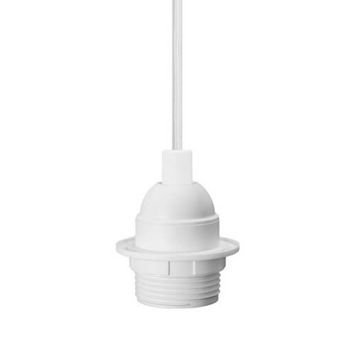 Bulb Attack UNO Plus Basic E27 lampholder - white