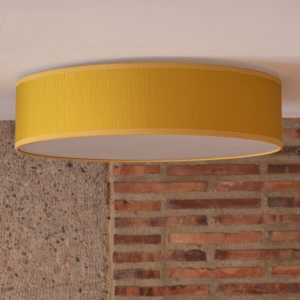 Bulb Attack Doce 1/C mustard ceiling lamp