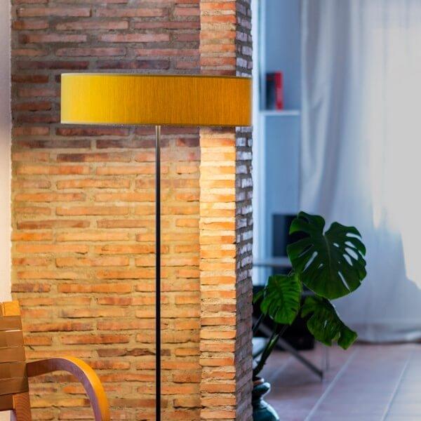Floor lamp Bulb Attack Doce 1/F mustard
