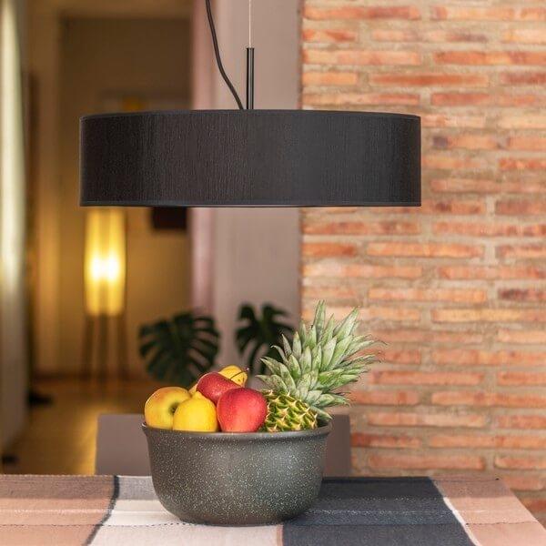 Modern pendant lamp Bulb Attack Doce 1/S black