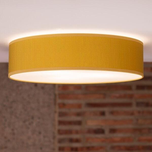 Designer ceiling lamp Bulb Attack Doce 1/C mustard