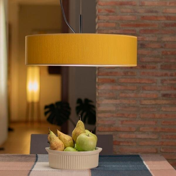 Bulb Attack Doce 1/S mustard pendant lamp
