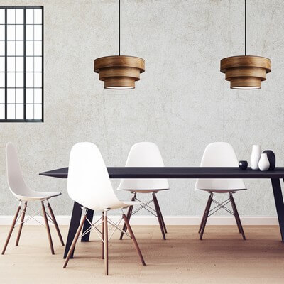 Sotto luce tsuri 3 1s pendant lamp with natural wooden veneer wooden pendant lamp sotto luce tsuri 3 walnut mozeypictures Images