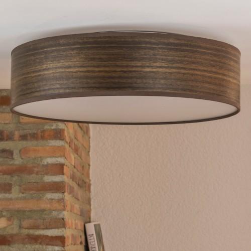 Bulb Attack Ocho wooden ceiling lamp - eucalyptus