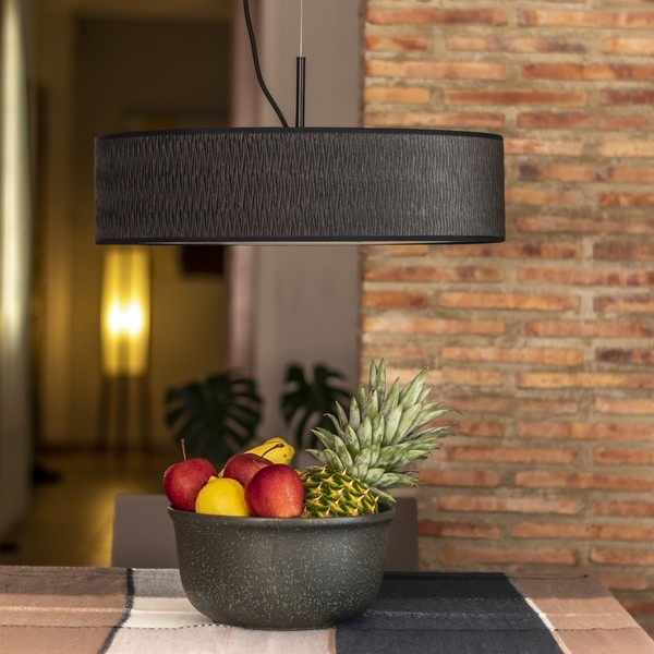 Bulb Attack Once Slim 1/S black pendant lamp