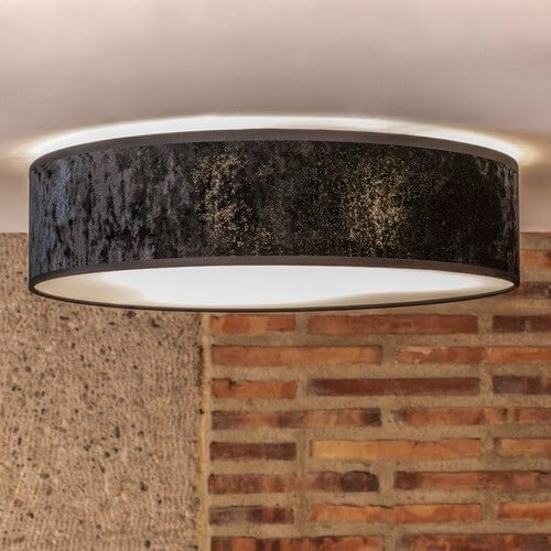 Bulb Attack Quince black ceiling lamp