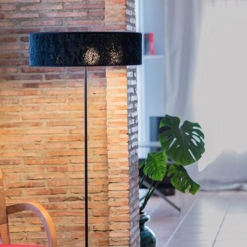 Floor lamp Bulb Attack Quince Slim 1/F black