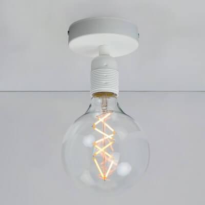 Designer Ceiling Lamp Bulb Attack Uno Basic C1 White