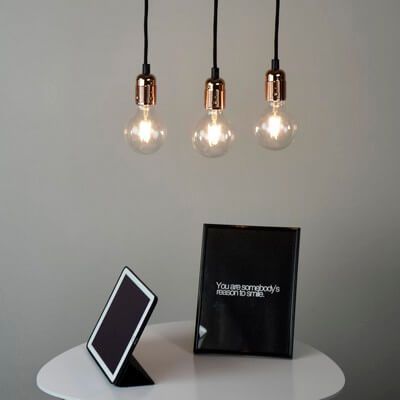 Simple pendant lamp - Bulb Attack Uno Basic S3