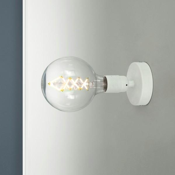 Wandleuchte Bulb Attack Uno Basic W1 weiß