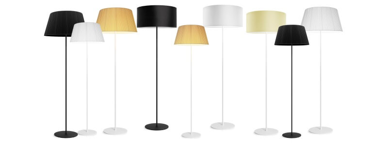 Floor lamps and lights