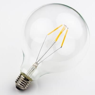 Globe L LED Bulb - Filament Dimmable Decorative Light