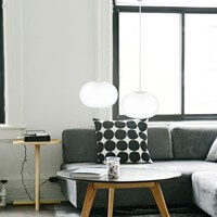 Designer ceiling lamp Sotto Luce Elementary Dosei 2/S