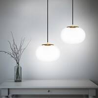 Sotto Luce Dosei Elementary 1/S with opal glass shade