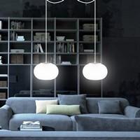 Sotto Luce Dosei Elementary 2/S pendant lamp with designer lamp shade